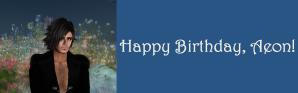 Happy Birthday, Aeon! color