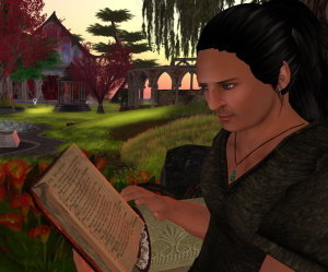 Join us today at 1 PM SLT to enjoy Russell's wonderful readings!