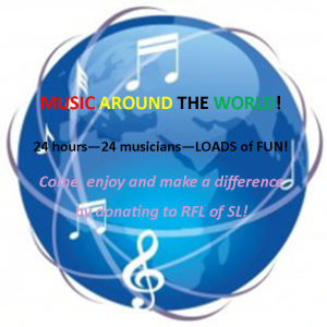 Music Around the World Benefiting RFL of SL