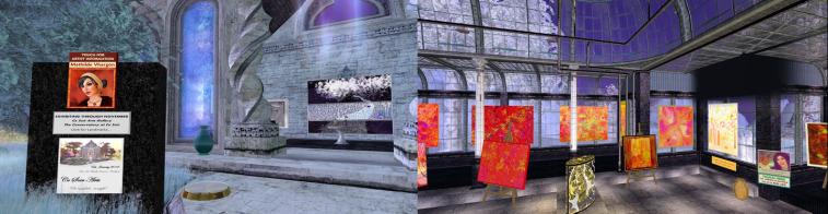 The Abstract Art of Mathilde Vhargon - at Ce Soir Arts through November