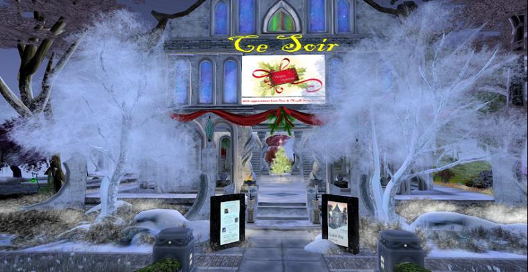 Christmas at Ce Soir Castle