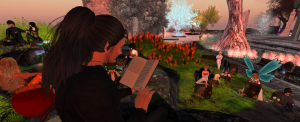 The Magic Tree Reading Spot with Russell Eponym - Poet Laureate of Ce Soir Arts