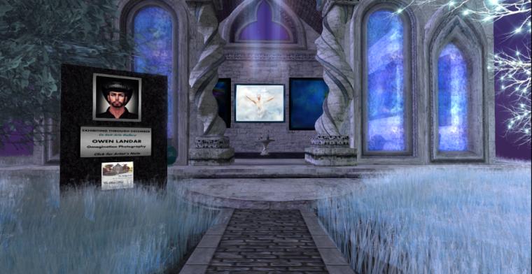The Art of OWEN LANDAR in at Ce Soir Arts Gallery through December