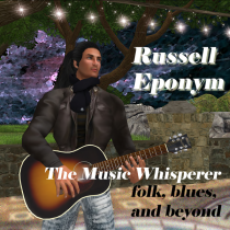 Russell - with folk, blues and beyond!
