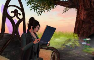 Reading at The Magic Tree - just me!