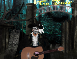 Russell Prepares to Serenade at the MAD MASQUERADE!