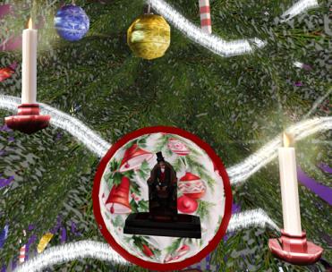 Aeon as Christmas Tree Ornament (BIG Christmas Tree!)
