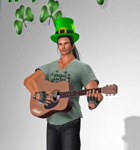 RUSSELL SINGING DANNY BOY on St. Patrick's Day