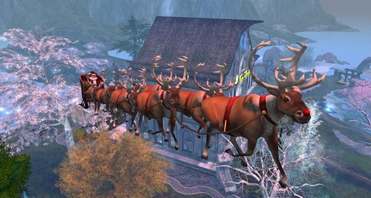 Santa Over Ce Soir by Wildstar Beaumont